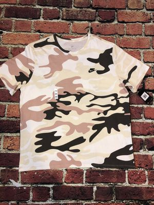 NIKE CAMO SPORTS WEAR T-SHIRT for Sale in New York, NY