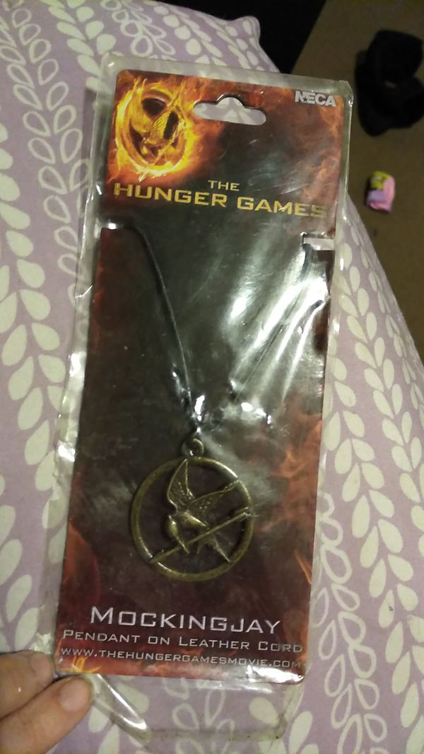 Free hunger games necklace