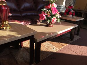 Coffee table and 2 end tables for Sale in Takoma Park, MD