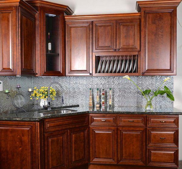 Crimson Glaze Kitchen