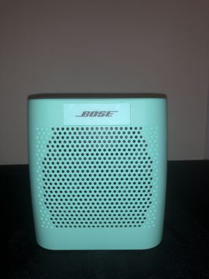 Bose SoundLink Color (Mint) Wireless Bluetooth Speaker for Sale in Chandler, AZ