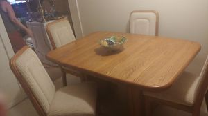Kitchen table 4 chairs for Sale in Pevely, MO