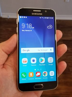 Clean Beautiful Samsung Galaxy S6 Unlocked for Sale in Dallas, TX