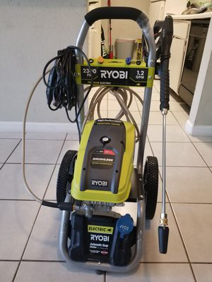 2,300 PSI 1.2 GPM High Performance Electric Pressure Washer for Sale in Houston, TX