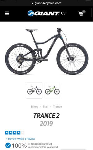 2019 Giant Trance 2 L for Sale in Henderson, NV