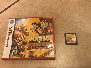 Nintendo DS Mario Donkey Kong & Mario Party for Sale in Orting, WA