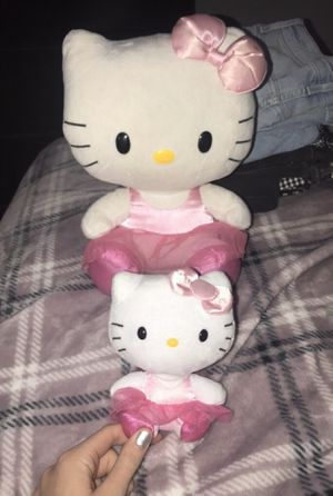 Hello kitty ballerina plushies for Sale in Fountain Valley, CA