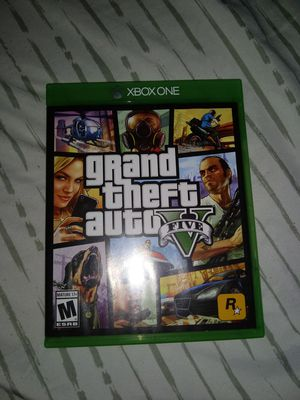 Gta 5 Xbox One for Sale in San Angelo, TX