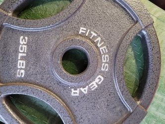 35 Pound Weight - Plate for Sale in Fresno,  CA