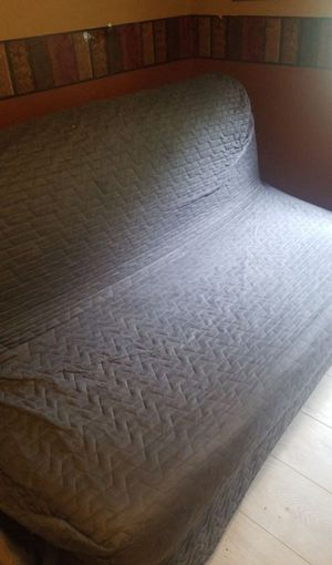 Ikea sofa bed pulls out to a full bed for Sale in Maple Valley, WA