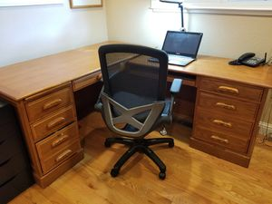 Two-section L-DESK for home or office for Sale in Los Altos, CA