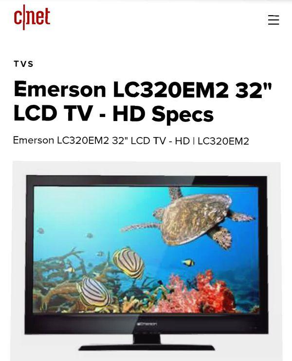 "32"" Emerson LCD TV"