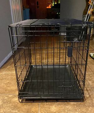 30 in dog crate with cover for Sale in Menifee, CA