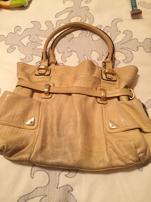 Makowsky Yellow Leather bag for Sale in Sachse, TX