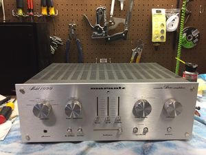 Marantz 1090 integrated amplifier. Restored. Original receipt included! for Sale in Carlsbad, CA