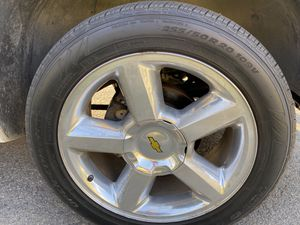 "20"" OEM Chevy wheels for Sale in Santa Maria, CA"