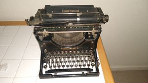 Antique 1920's typewriter for Sale in Fresno, CA