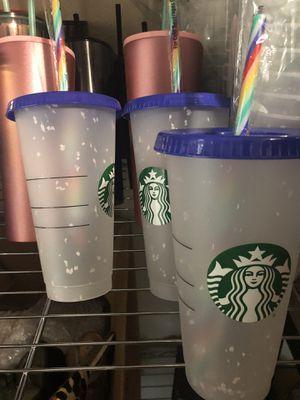 Starbucks Confetti Cups for Sale in Houston, TX
