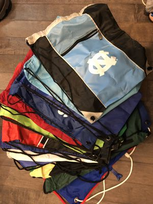 Set of 15 sling backpacks - $8 for all for Sale in Ellicott City, MD