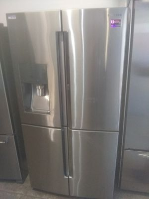 Samsung stainless steel french4 door refrigerator home and kitchen appliances for Sale in San Diego, CA