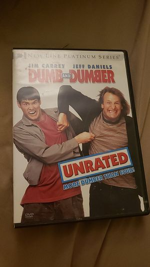 Dumb and dumber unrated for Sale in Chula Vista, CA
