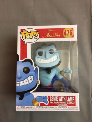 Aladdin Genie With Lamp Pop Figure #476 for Sale in Chantilly, VA