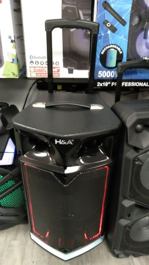 H&A bluetooth speaker for Sale in Dallas, TX