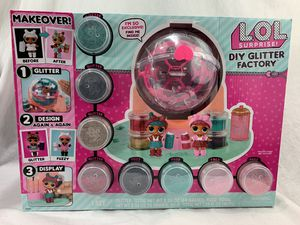 LOL SURPRISE DIY Glitter Factory Doll Do It Yourself **NEW** for Sale in Littleton, CO