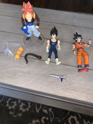 Dragon ball z figures for Sale in Stoughton, MA