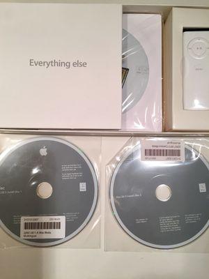 Mac OS X 2006 Tiger 10.4.7 installer Disks for Sale in Riviera Beach, FL