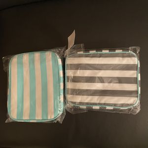 Cute Striped Makeup/Toilet Bag - New for Sale in Gilbert, AZ