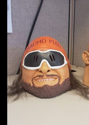 WWE mask Randy Macho Man Savage Halloween Mask! brand new. Never used. original $50 for Sale in Antioch, CA