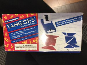 TANGOES PUZZLE GAME for Sale in San Diego, CA