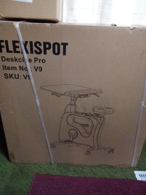 Exercise bike with table for Sale in Kennewick, WA