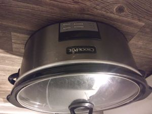 Crock pot slow cooker 3.5 qt for Sale in San Antonio, TX