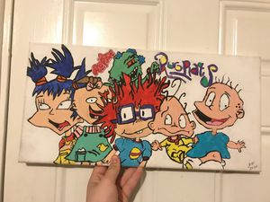Rugrats painting for Sale in Durham, NC