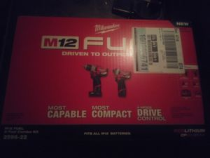 Milwaukee Fuel12v combo for Sale in Portland, OR