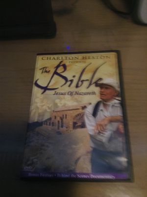 DVD the bible Jesus of Nazareth for Sale in Hialeah, FL