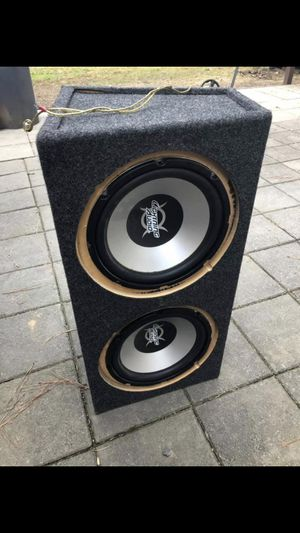 12 inch subwoofers 🔊 $120 OBO for Sale in Durham, NC