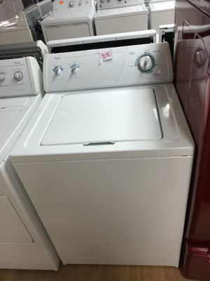 Whirlpool white top load washer for Sale in Woodbridge, VA