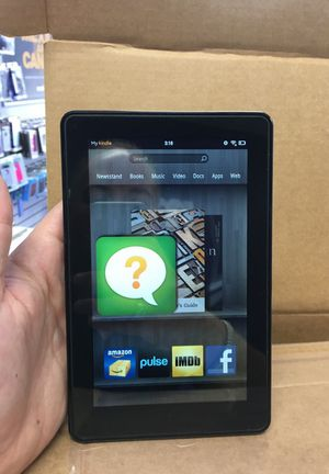 "Amazon kindle fire 7"" wifi do1400 in perfect shape for Sale in Jacksonville, FL"