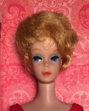 Vintage 1962 Mattel Platinum Bubble Cut Barbie Doll & Box for Sale in Westminster, CO