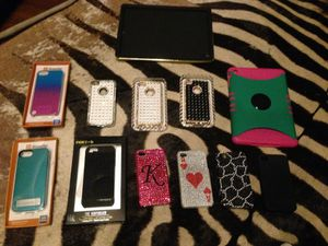 iPhone and iPad cases. All for $100 for Sale in Dallas, TX