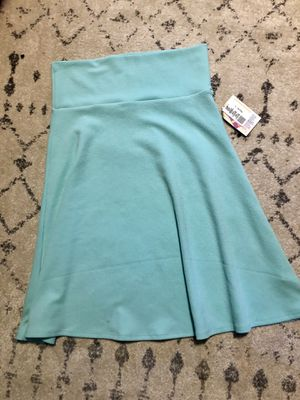 LuLaRoe Azure skirt brand new with tags for Sale in Chesterfield, NJ