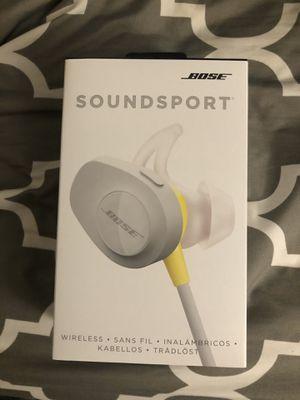 80% NEW BOSE Sport wireless headphone for Sale in Cerritos, CA