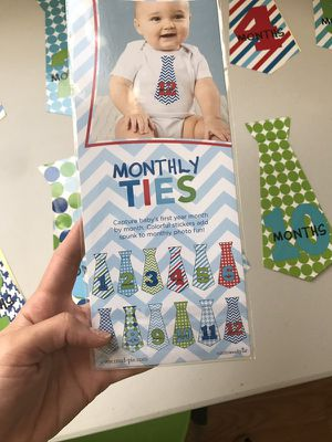 Monthly ties - stickers for Sale in Los Angeles, CA
