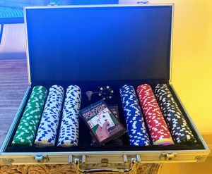 Poker Set - Case, Chips, Cards for Sale in Miami Shores, FL