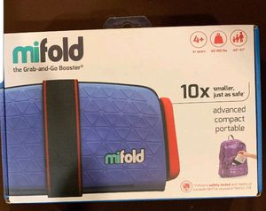 Mifold grab & go booster seat - traveler booster - carseat for Sale in Sacramento, CA
