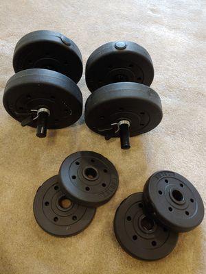 Golds Gym 40 Lb Vinyl Adjustable Dumbbell Set for Sale in Bellevue, WA