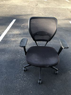 Office chair in black for Sale in Alexandria, VA